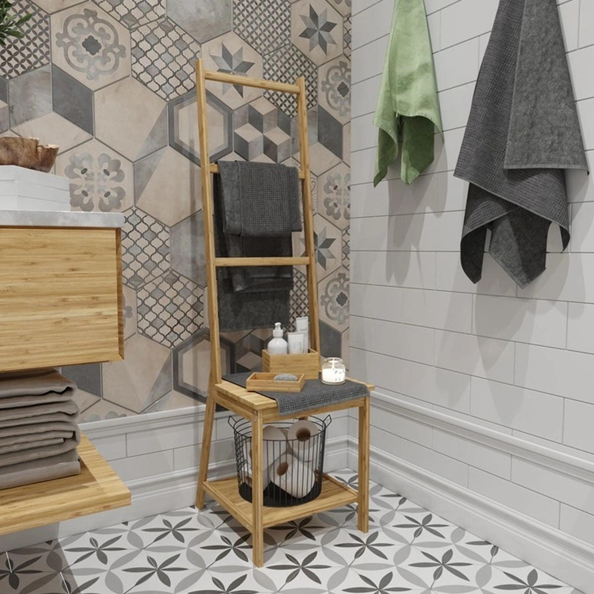 Шкаф-пенал для ванной 39х44х140 см