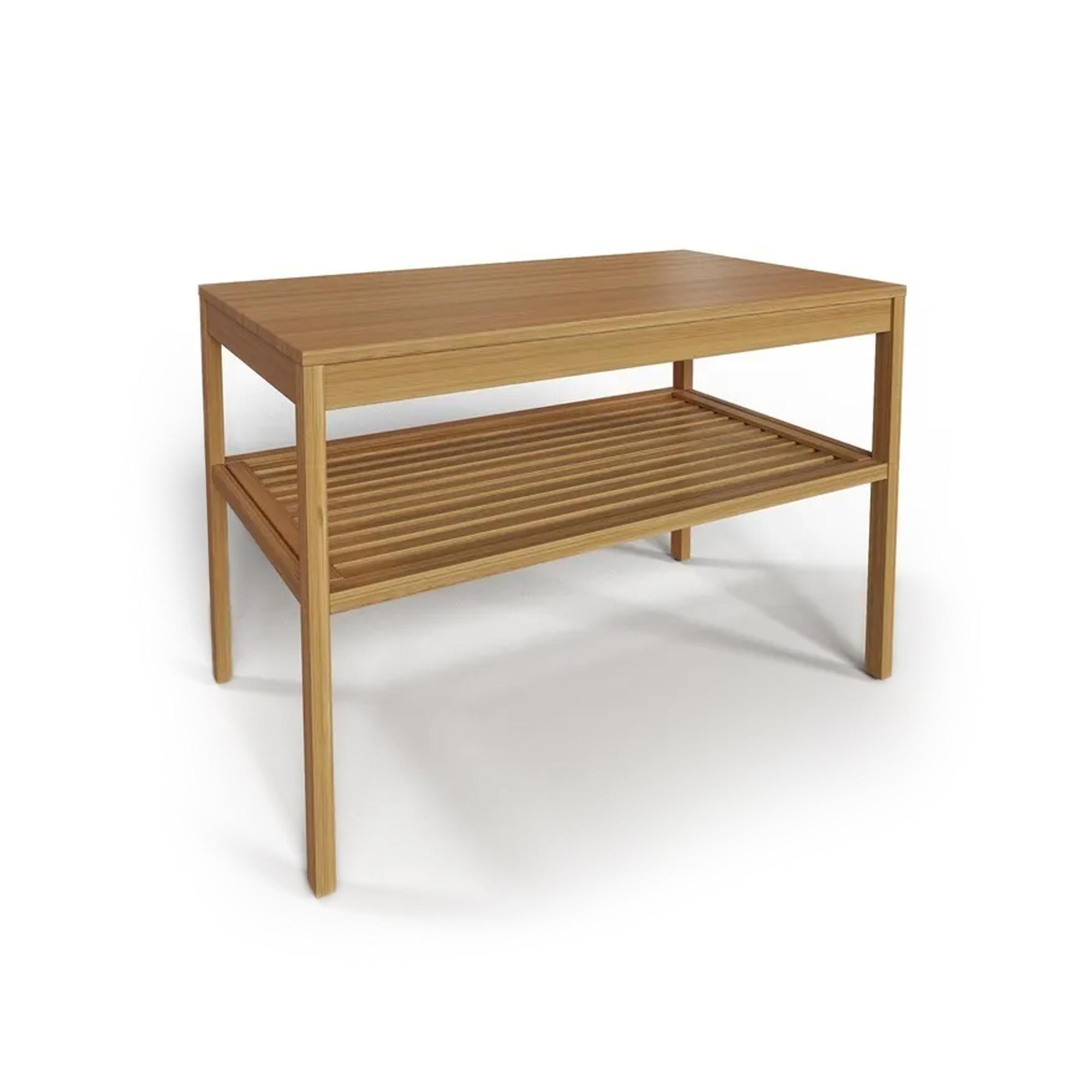 Журнальный стол из дуба, 76х47х53 см
