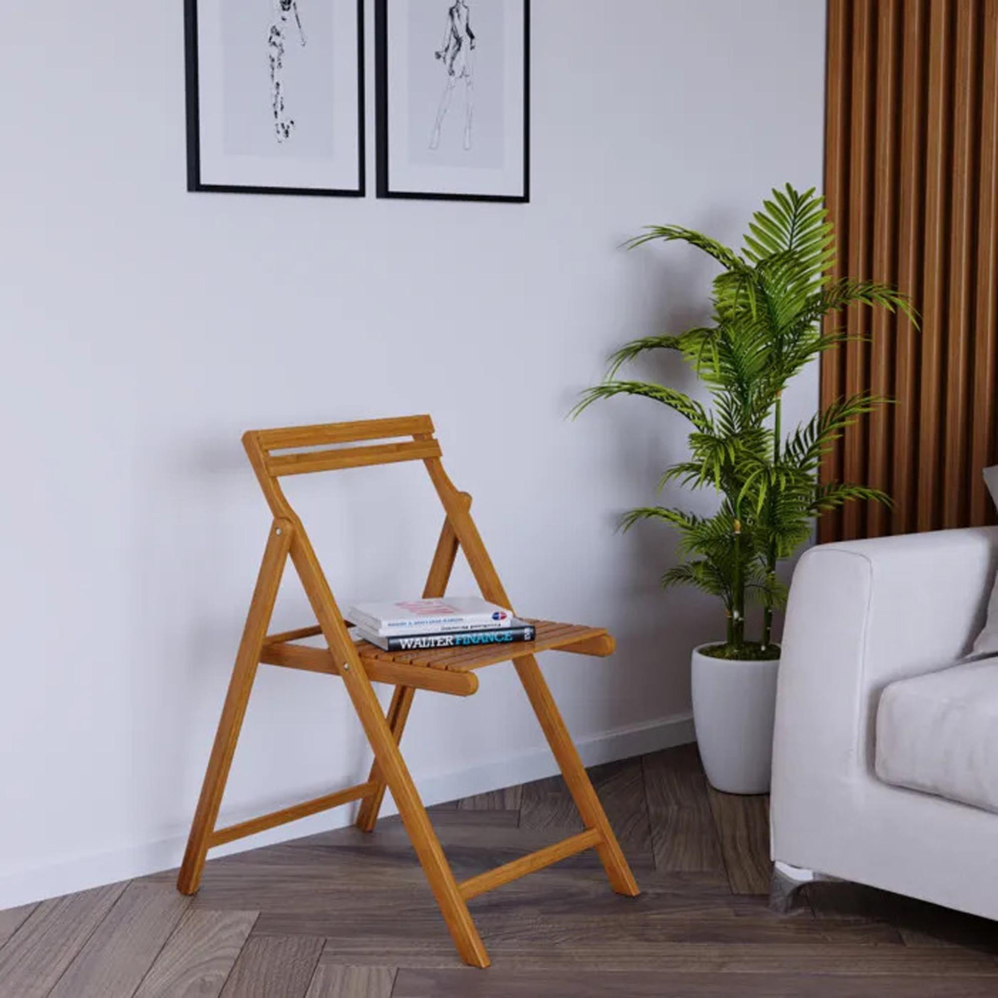 Складной стул из дуба, 50х73,9х57,8 см