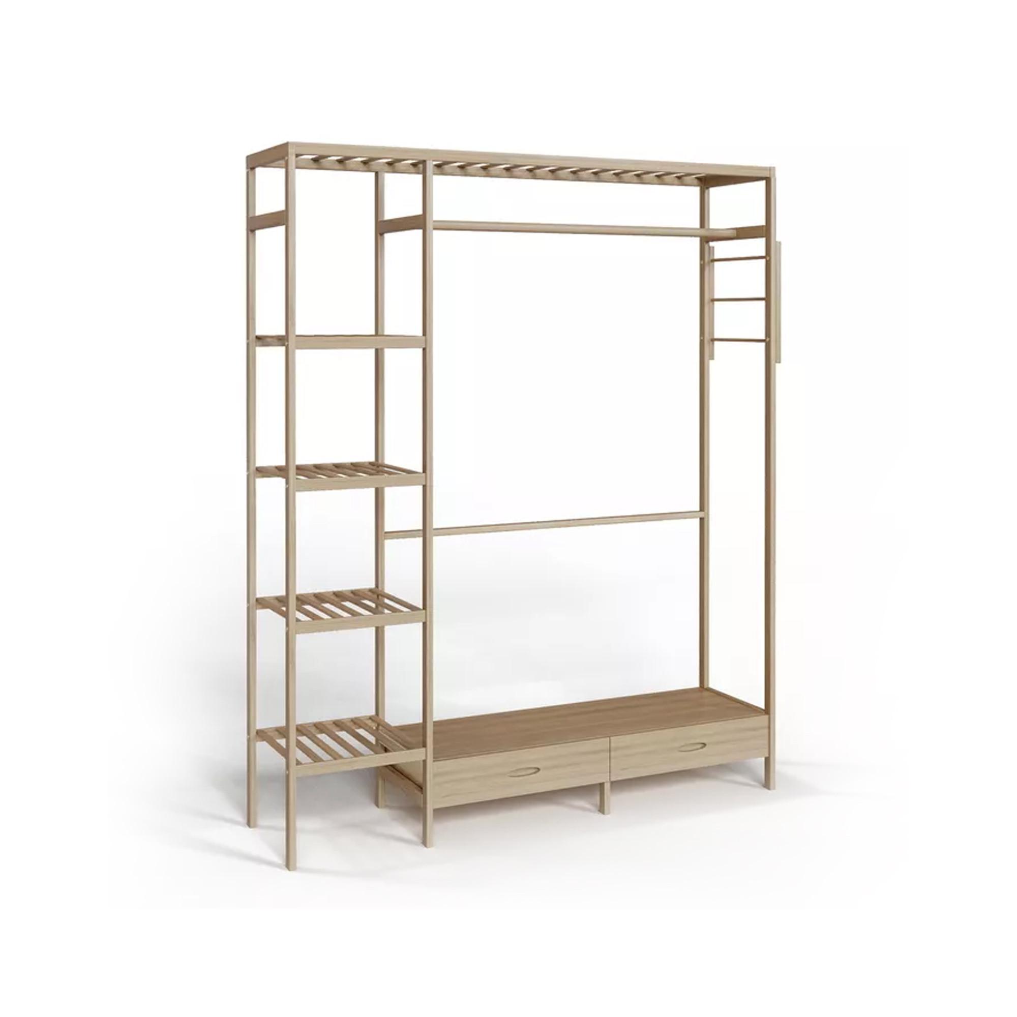 Шкаф-витрина Гардероб из дуба, 36х36х78,4 см